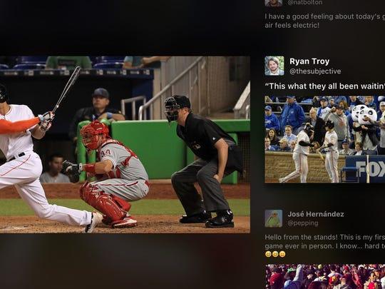 Twitter app on Apple TV