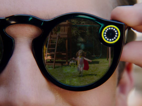 Promo shot of Snapchat Spectacles