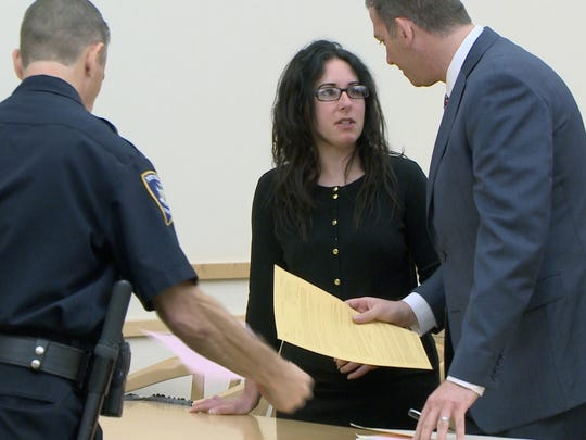 Kelly Gribluk pleads guilty at the Rockland County