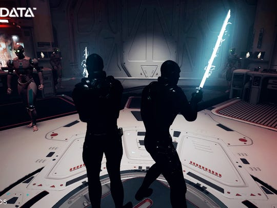 The Raw Data virtual reality game from Survios