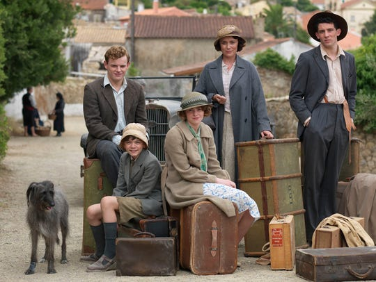 """""""The Durrells in Corfus"""" debuts Sunday on PBS."""