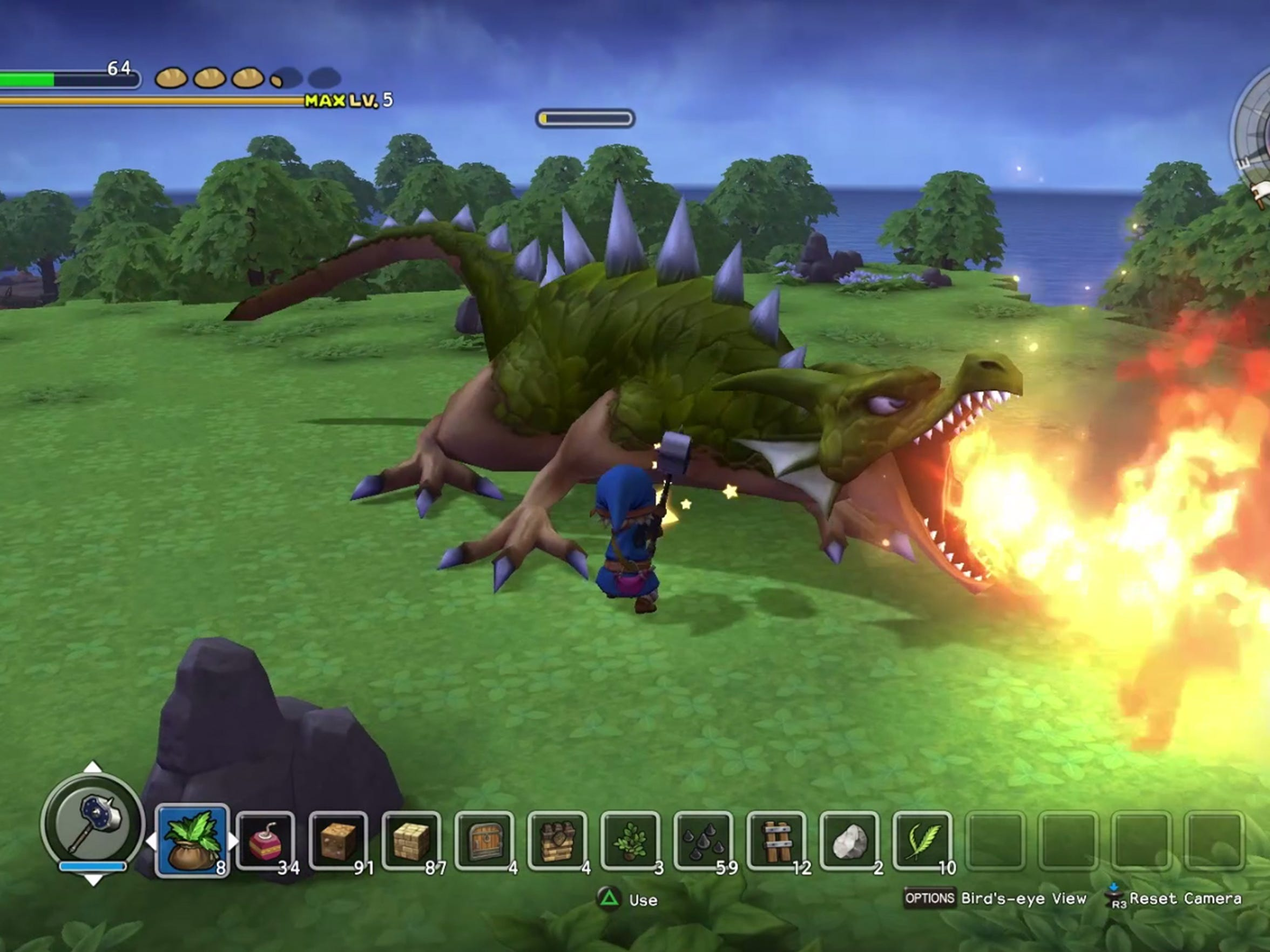 It's called Dragon Quest for a reason. Fight dragons