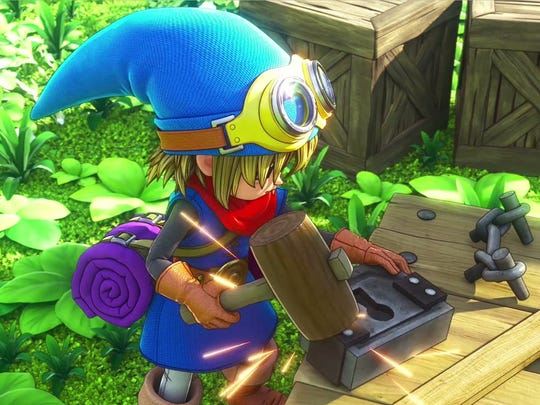 "Just build it, baby. ""Dragon Quest Builders"" lets you craft stuff a la Minecraft, too."