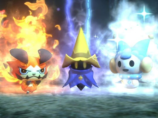 "These babies in ""World of Final Fantasy"" sure look familiar."