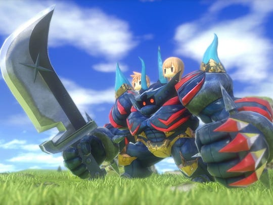 World of Final Fantasy Review.