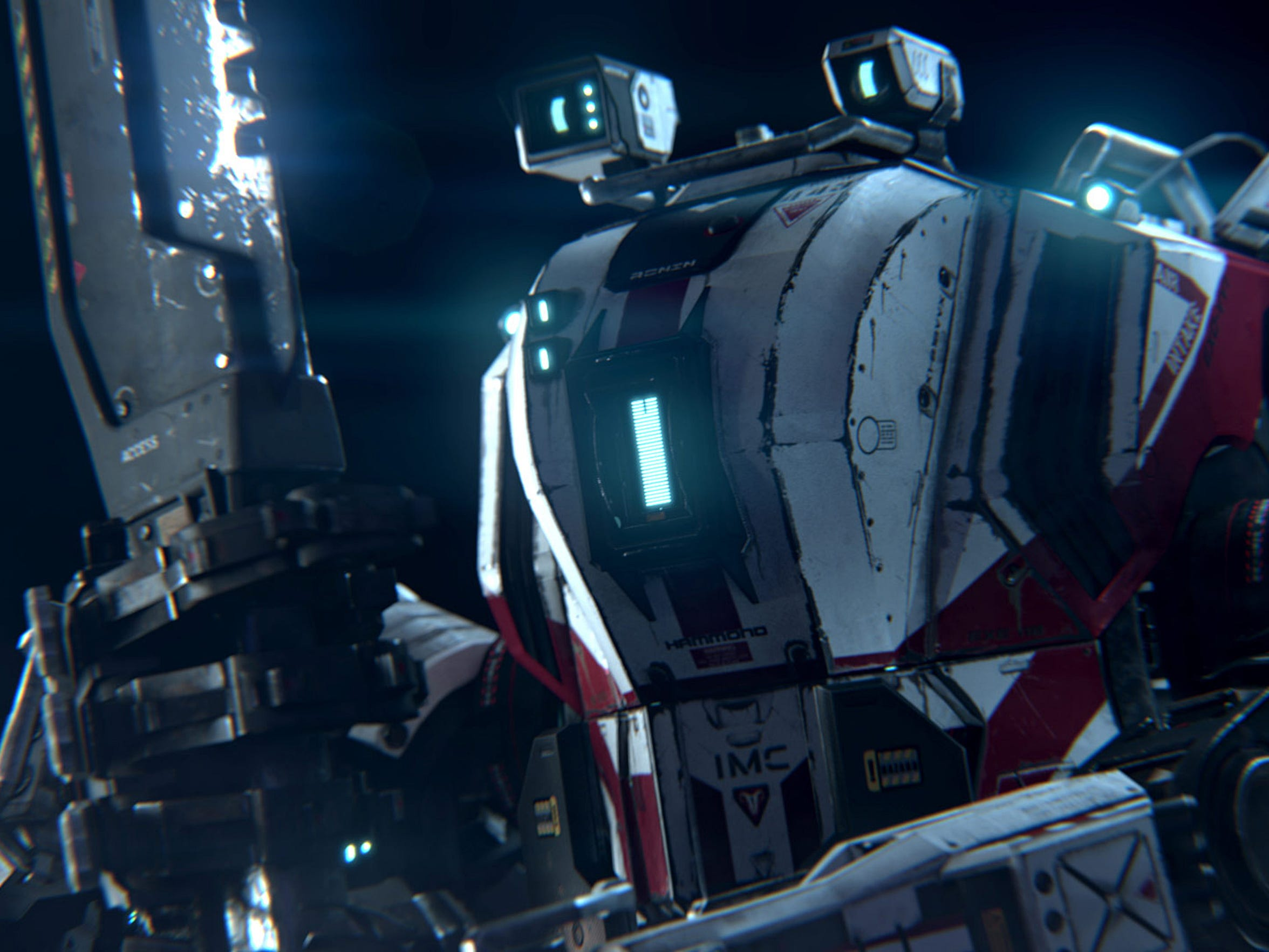Say hello to someone's not so little friend in Titanfall