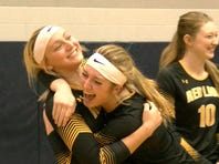 Red Lion improved to 8-0 on the season in five-game matches, winning the program's first district title. Red Lion defeated Hempfield, 3-2, Saturday.