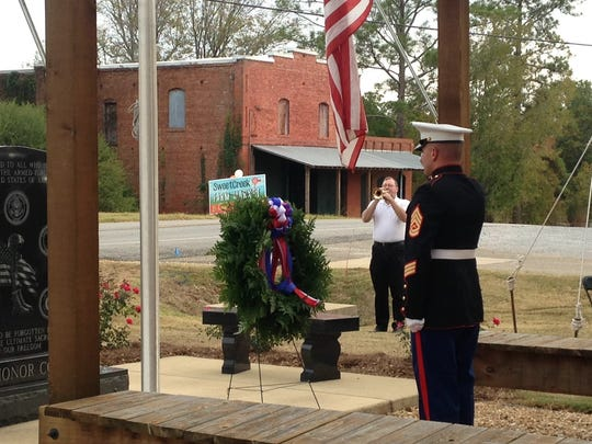 Pike Road holds a Veterans Day Ceremony at the Veterans