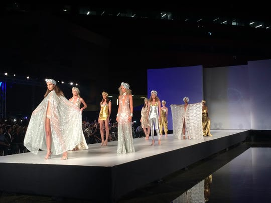 A Style Fashion Week show in Los Angeles at the Pacific Design Center.