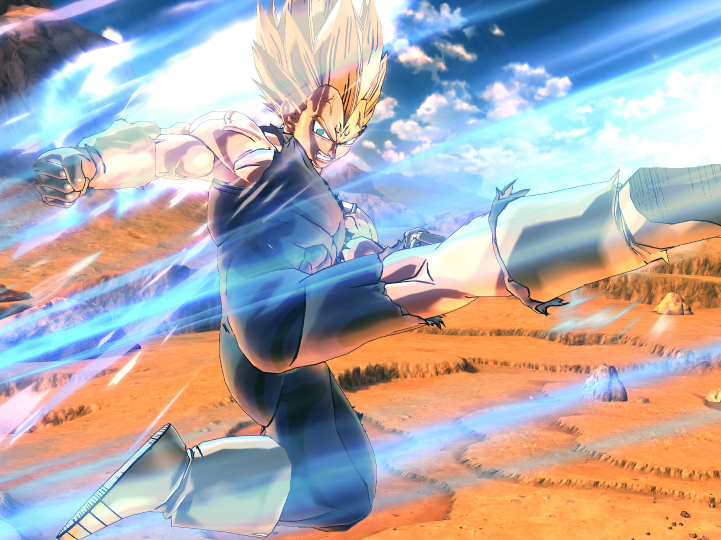 """""""Dragon Ball Xenoverse 2"""" features an art style that"""