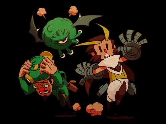 Friendship amid struggle is one of the themes of Owlboy.