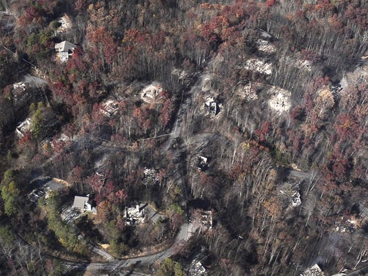 Gatlinburg Fire 3