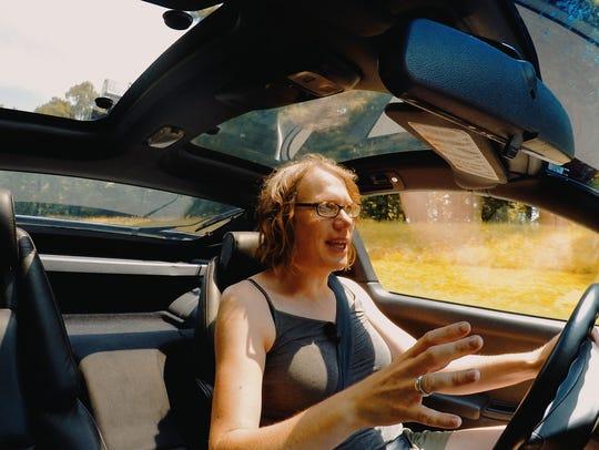 Jennifer Jensen, creator of Oshkosh-based Auto Exotica