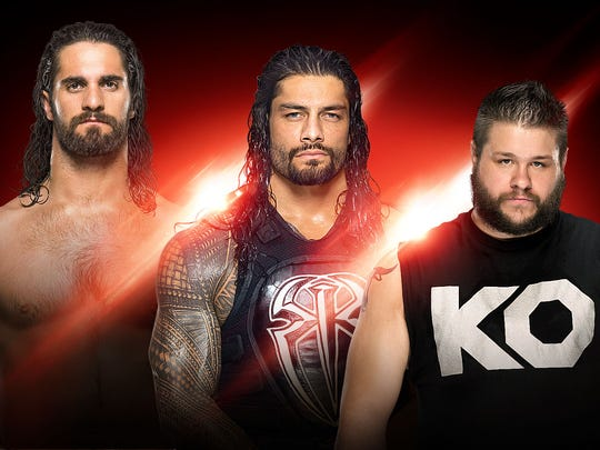"""WWE's """"Monday Night Raw"""" returns to the Resch Center on Feb. 27 with Seth Rollins, Roman Reigns and Kevin Owens on the card."""