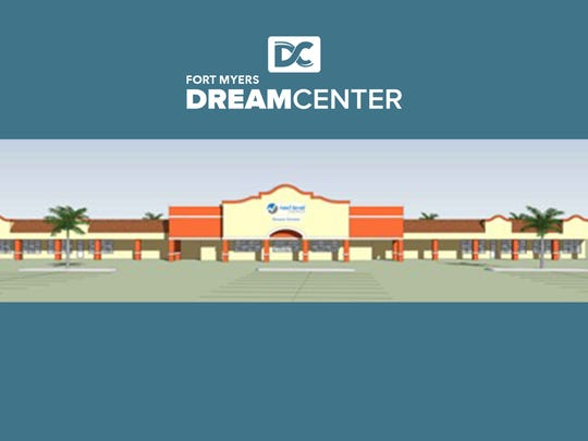 A rendering of the Dream Center.