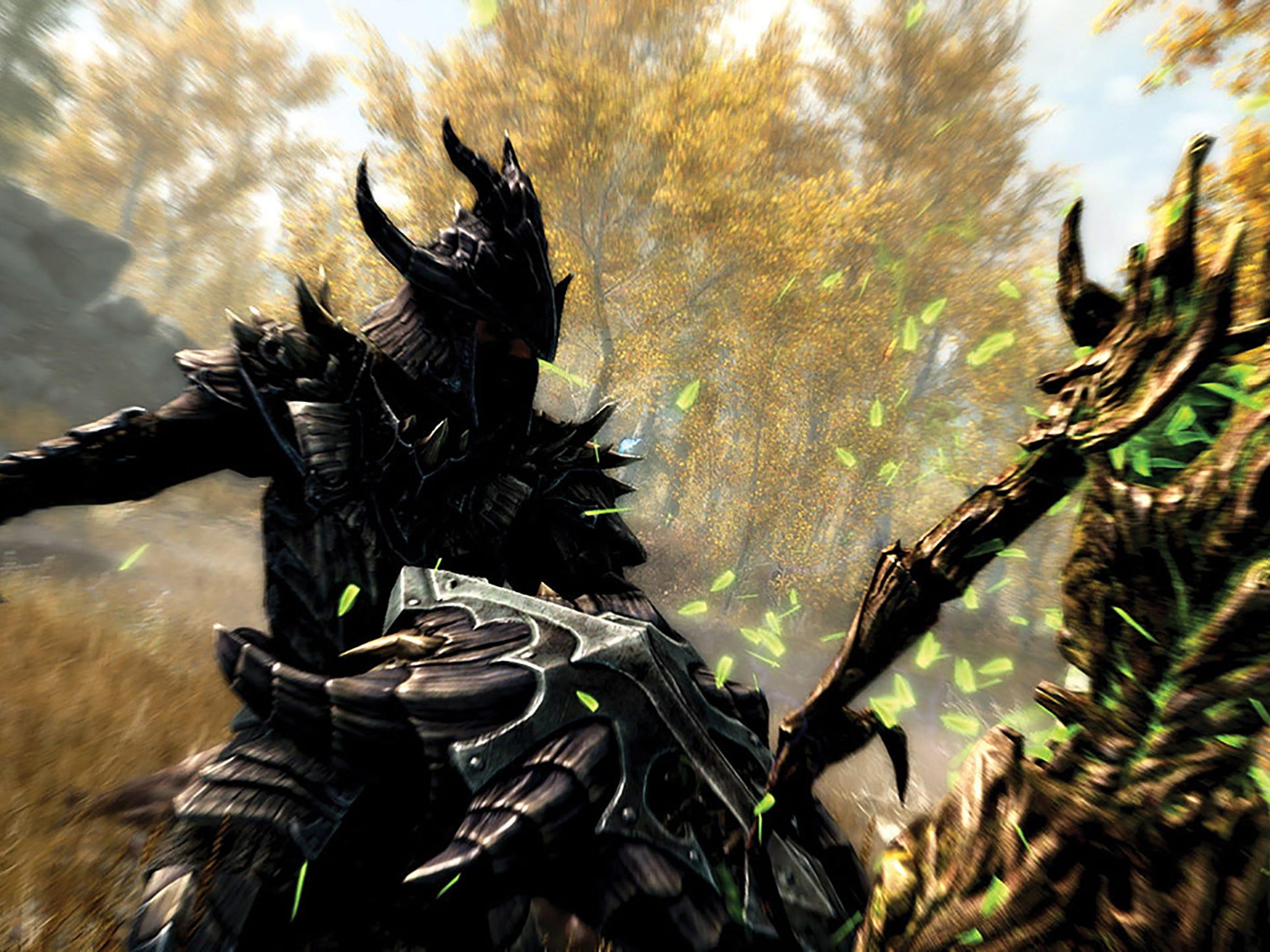 The Elder Scrolls V: Skyrim Special Edition.