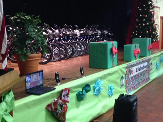 Academy Sports and Outdoors donated 30 bikes to reward