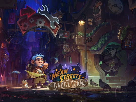 Step into the Mean Streets of Gadgetzan in the latest Hearthstone expansion.
