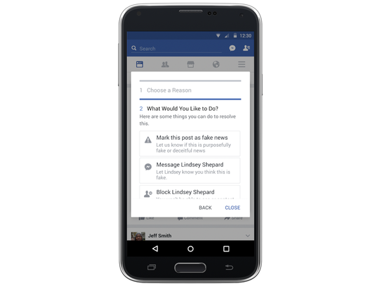 Facebook users can also alert their friends to articles