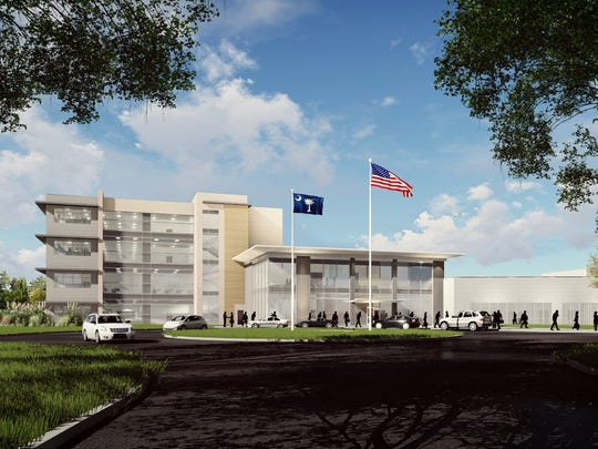 A TTI visualization of its planned $75 million facility
