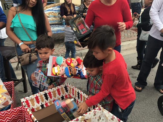 Little friends from around the local community pitched in and donated toys to those less fortunate.