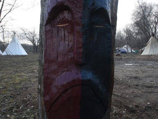 The Ramapough Lenape campground at the center of the