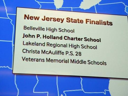 John P. Holland Charter School students won $25,000