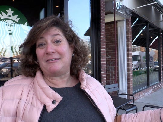 Judy Belkin of Rye says the parking lot at the Rye