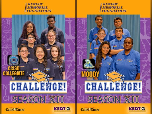 KEDT-TV Challenge January 19, 2017 - CCISD Collegiate vs. Moody