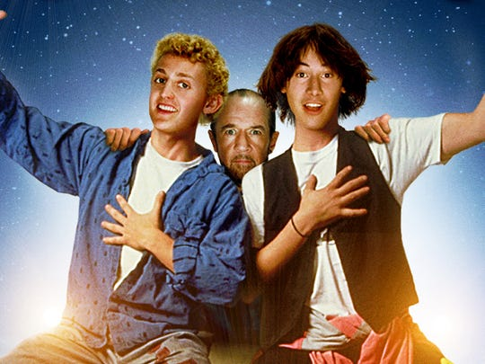 """Bill & Ted's Excellent Adventure"" (1989) screens on Thursday, Nov. 8 at the Visalia Fox Theatre."