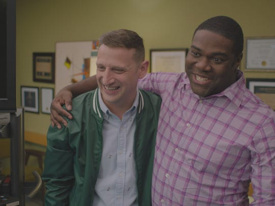From left: Tom Robinson and Sam Richardson of Comedy Central's 'Detroiters.'