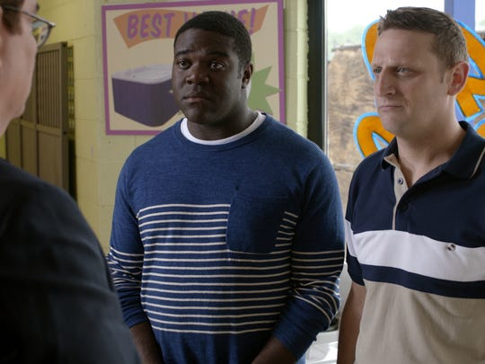 From left: Sam Richardson and Tim Robinson of Comedy Central's 'Detroiters.'