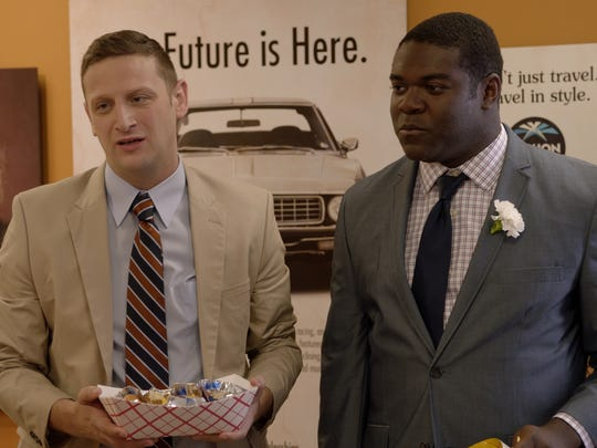 From left: Tim Robinson and Sam Richardson of Comedy Central's 'Detroiters.'