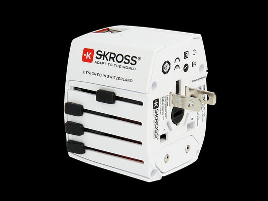Skross MUV USB  World Travel Adapter