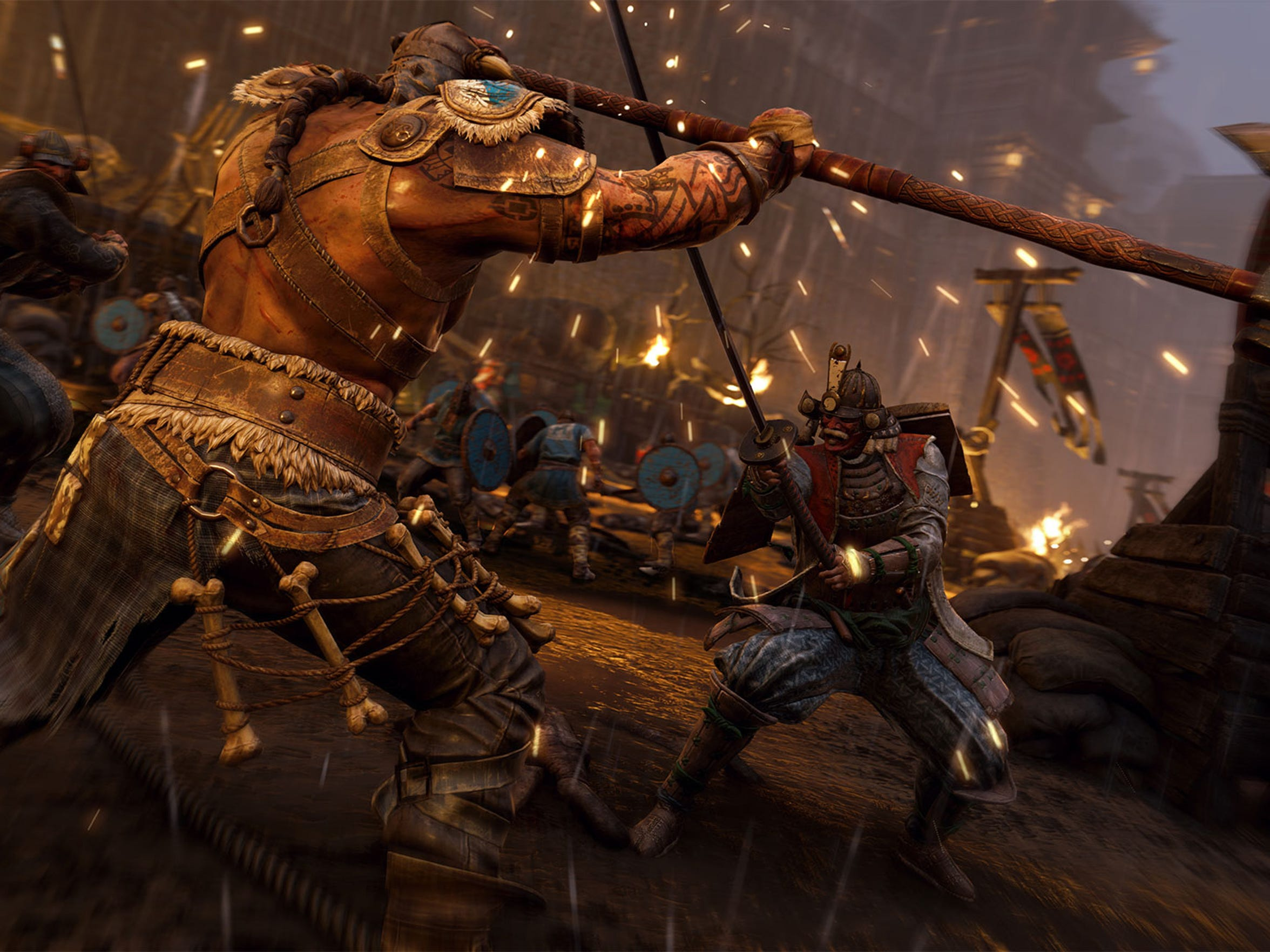 """For Honor"" is a medieval style combat game for PC,"