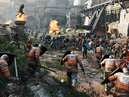 """For Honor"" is a medieval style combat game for PC, PS4 and Xbox One featuring various factions and classes."
