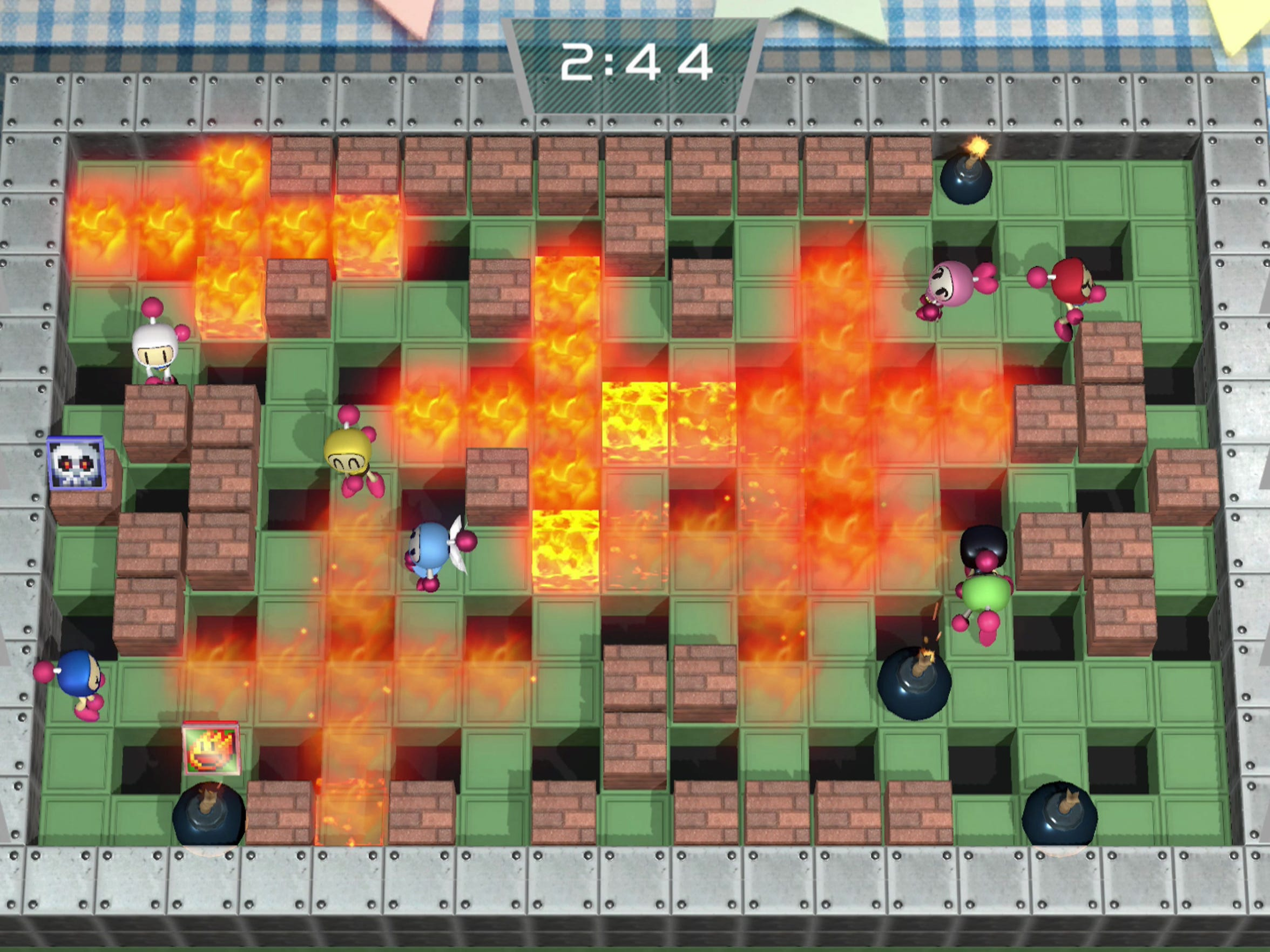 Things Go Boom Super Bomberman R Review Technobubble Nintendo Switch Us Up To Eight Players Yes Can Battle Each Other