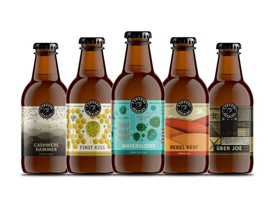 New designs for 3 Sheeps brews include the labels and