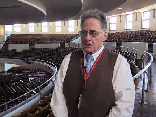Ken Silver, assistant superintendent for business at