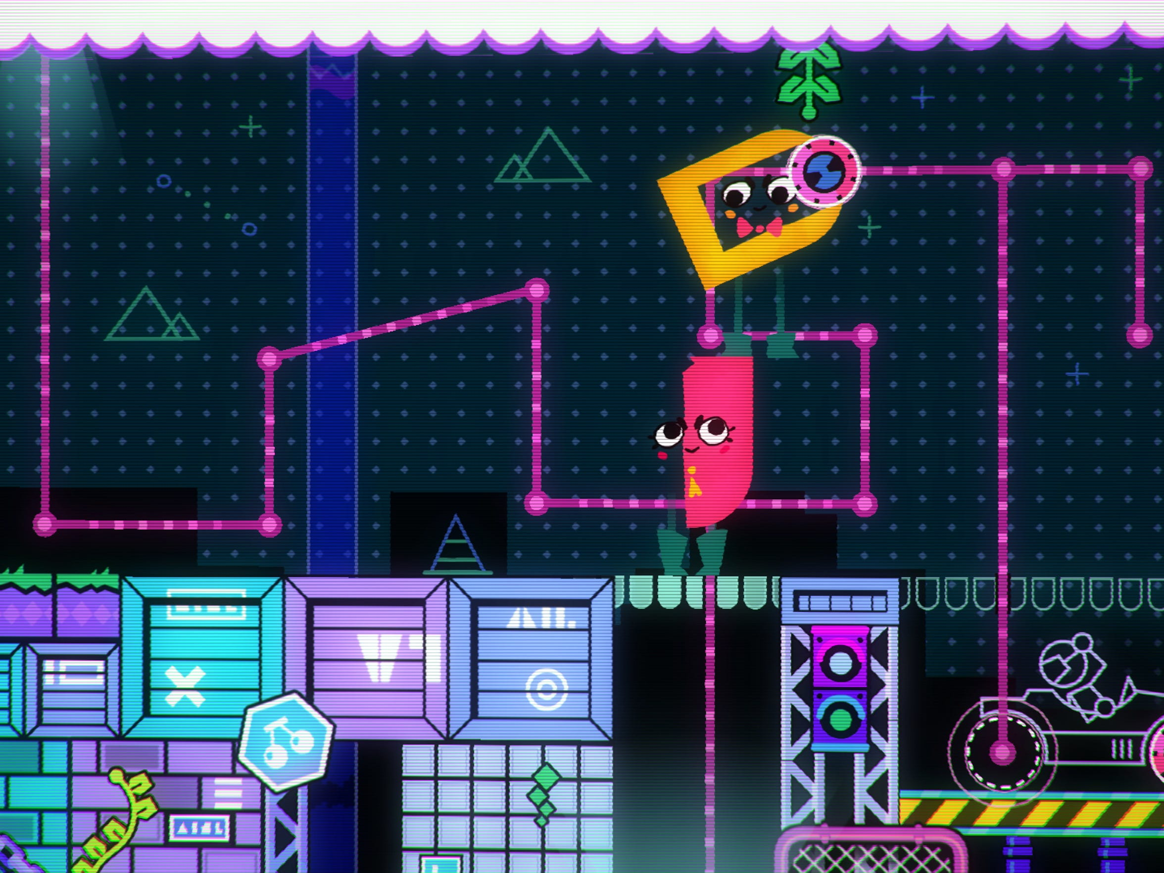 Charming characters takes Snipperclips' puzzles to