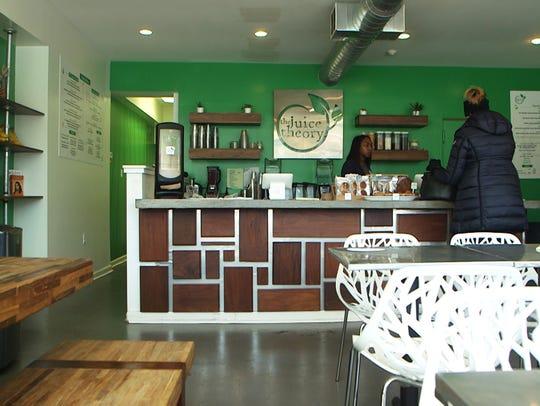 The Juice Theory in Long Branch serves organic, vegan