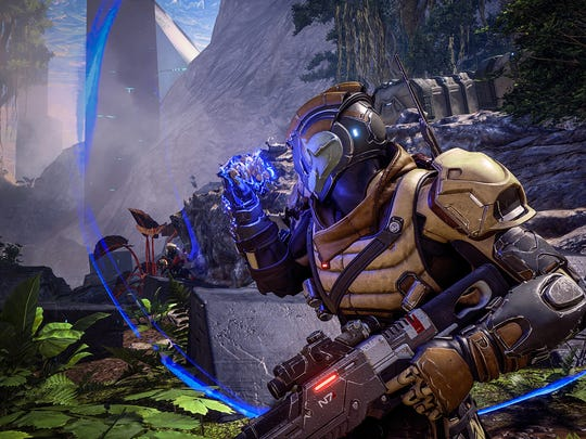 Biotic powers remain an integral part of Mass Effect Andromeda's fun combat.