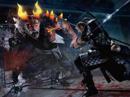 Fight demons as a foreign samurai in Nioh.