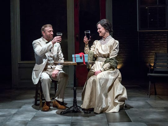 Barry Mulholland and Annie Fitzpatrick star in Ensemble