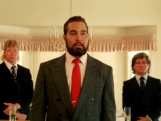 "Robert Z'Dar (center) in ""Samurai Cop."""