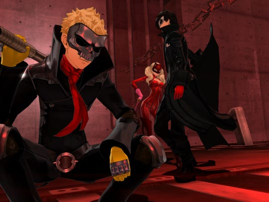 Persona 5 oozes with a pop-punk vibe.