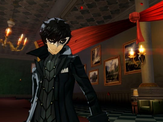 """Meet protagonist """"Joker"""" in Persona 5."""