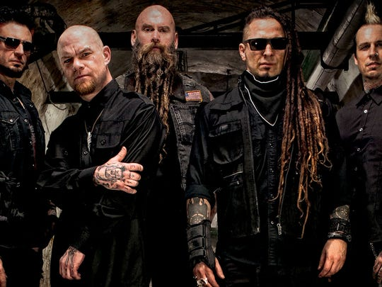 Five Finger Death Punch, All That Remains and Avatar will perform at 6:30 p.m., Wednesday, May 17 at Concrete Street Amphitheater, 700 Concrete St. Cost: $35, +service charge. Information: 361-884-8085.