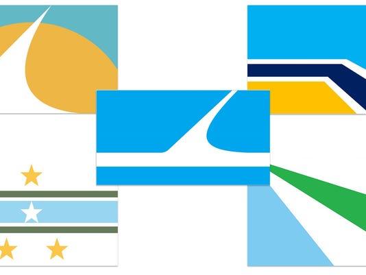 Redding City Flag