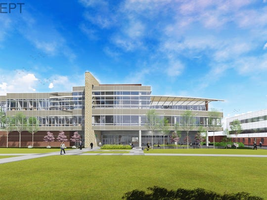 This rendering shows the proposed Dr. C. Wayne McIlwraith Translational Medicine Institute expected to open at Colorado State University in fall 2018.